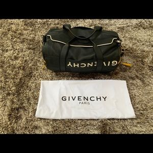 Givenchy MC3 Black Leather Duffle Bag MSRP $2890!!